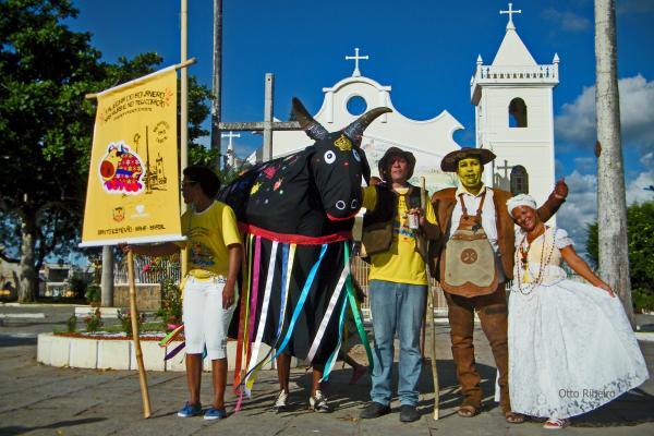 Festa do bumba-meu-boi em Santo Estevão