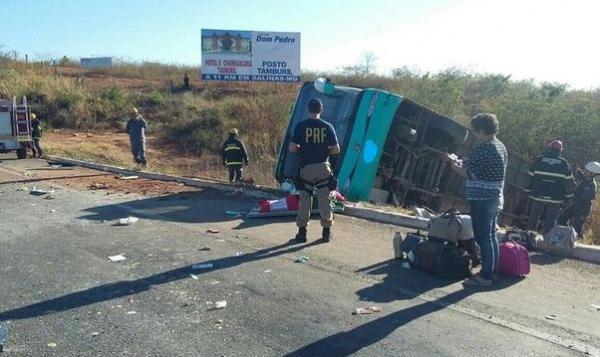 Músico da banda 'Desejo de Mulher' morre em acidente de ônibus na BR-251