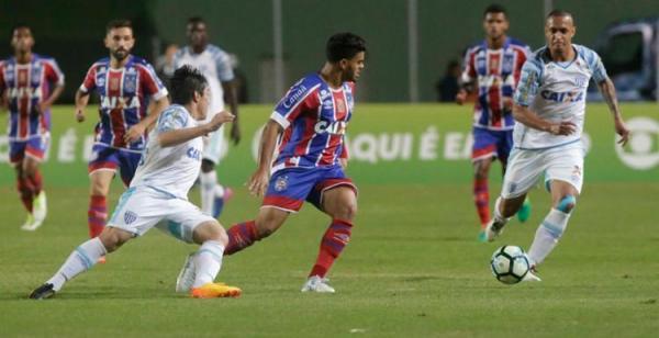 Bahia cede empate em casa e segue próximo do Z-4