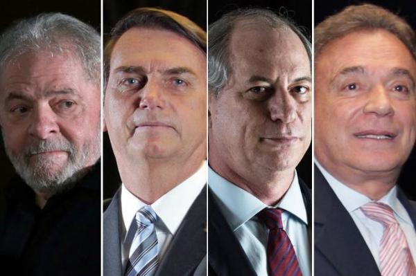 Eleições 2018: Quatro candidatos já estão na corrida pelo Planalto