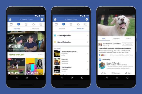 Facebook lança plataforma de vídeo para concorrer com YouTube