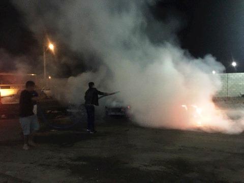 Santo Estevão | Incêndio na garagem da prefeitura destruiu 6 veículos