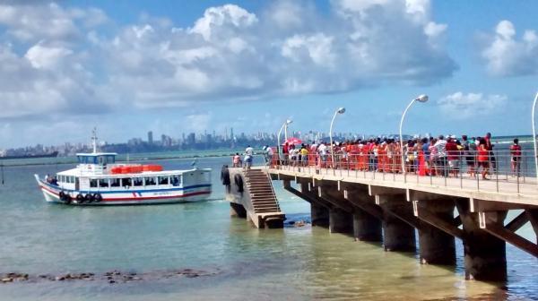 MP pede à Justiça suspensão da travessia Mar Grande - Salvador