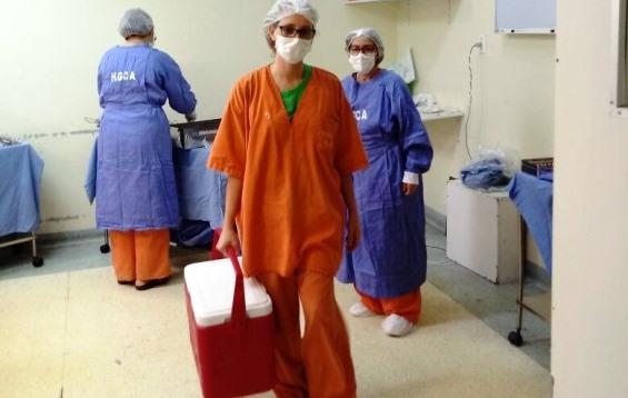 Hospital Clériston Andrade realiza captação de órgãos pela quarta vez neste ano
