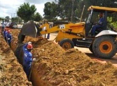 Governo firma convênio para fortalecer água e saneamento na região de Feira de Santana; Santo Estevão será um dos municípios beneficiados