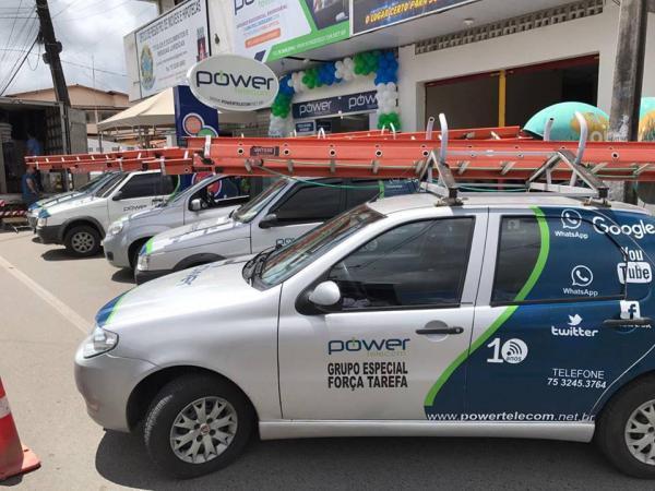 Power Telecom inaugura filial na avenida José Botelho, em Santo Estevão