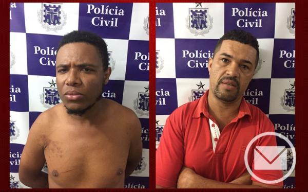 Santo Estevão | Dupla é presa após diversos roubos; motocicletas foram recuperadas