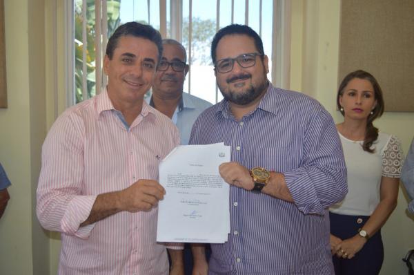 Santo Estevão | Reinaldo Copello Filho assume a  secretaria de Governo