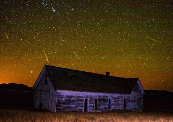 Chuva de meteoros Oriônidas começa nesta sexta com pico na madrugada de domingo