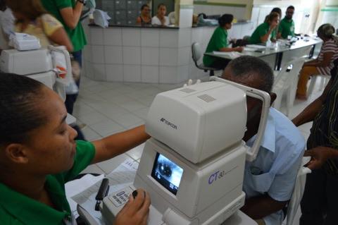 Santo Estevão | Mutirão de Glaucoma acontece neste sábado (28) na UBS do Poeirão