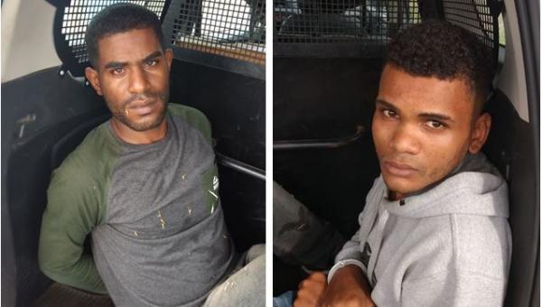 Dupla de assaltantes é presa em Santo Estevão