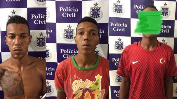 Polícia Civil desarticula quadrilha acusada de vários assaltos em Santo Estevão