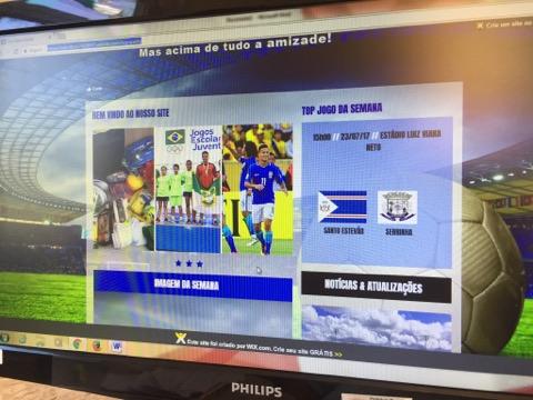 f11631ce71 Seleção santoestevense terá patrocínio de site de esportes de Santo Estevão